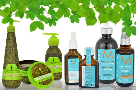 Олія макадамії та аргани для догляду за волоссям