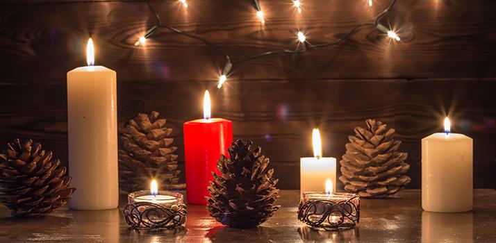 ароматизовані свічки нададуть особливу атмосферу вашій оселі