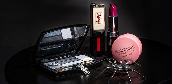 вибір косметичних засобів для макіяжу на Хеловін
