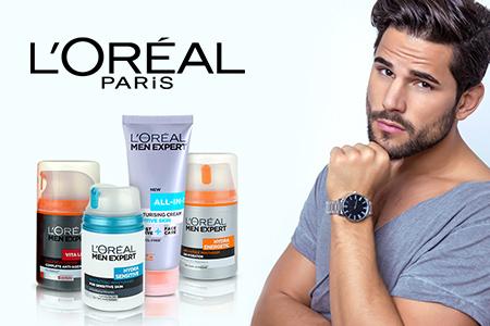 Креми для чоловіків L'Oréal Paris Men Expert