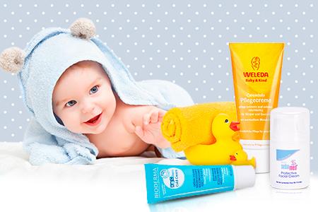 Косметика для чутливої шкіри ваших немовлят