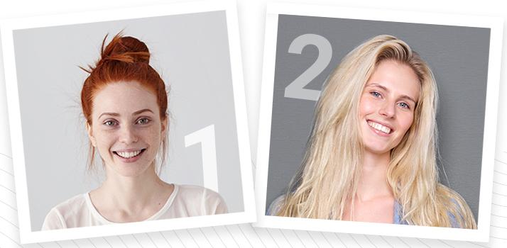 Фототип 1 та 2