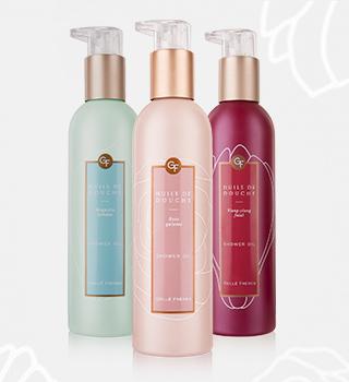 Shower Oils Gellé Freres