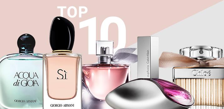 top10 жіночих ароматів